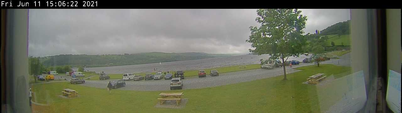 Live webcam view of Llyn Tegid